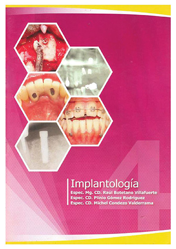 Cover of Implantología