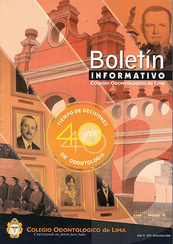 Cover of Boletín Informativo 03 - COL