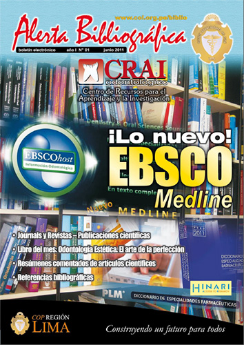 Cover of Alerta Bibliográfica 01